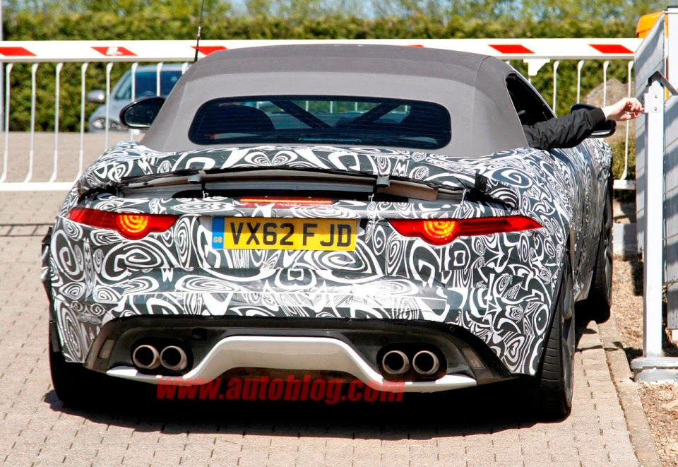 Spy Photos : 2016 Jaguar F-Type RS GT