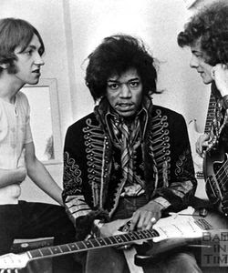 chas chandler, jimi hendrix and noel redding