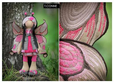 195Игрушка своими руками кукла бабочка