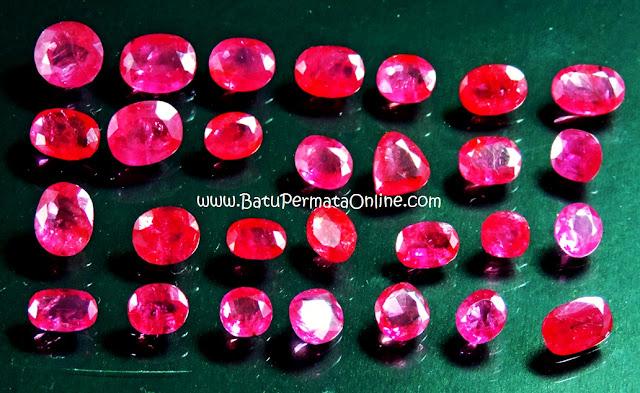Batu Ruby (Merah Delima)