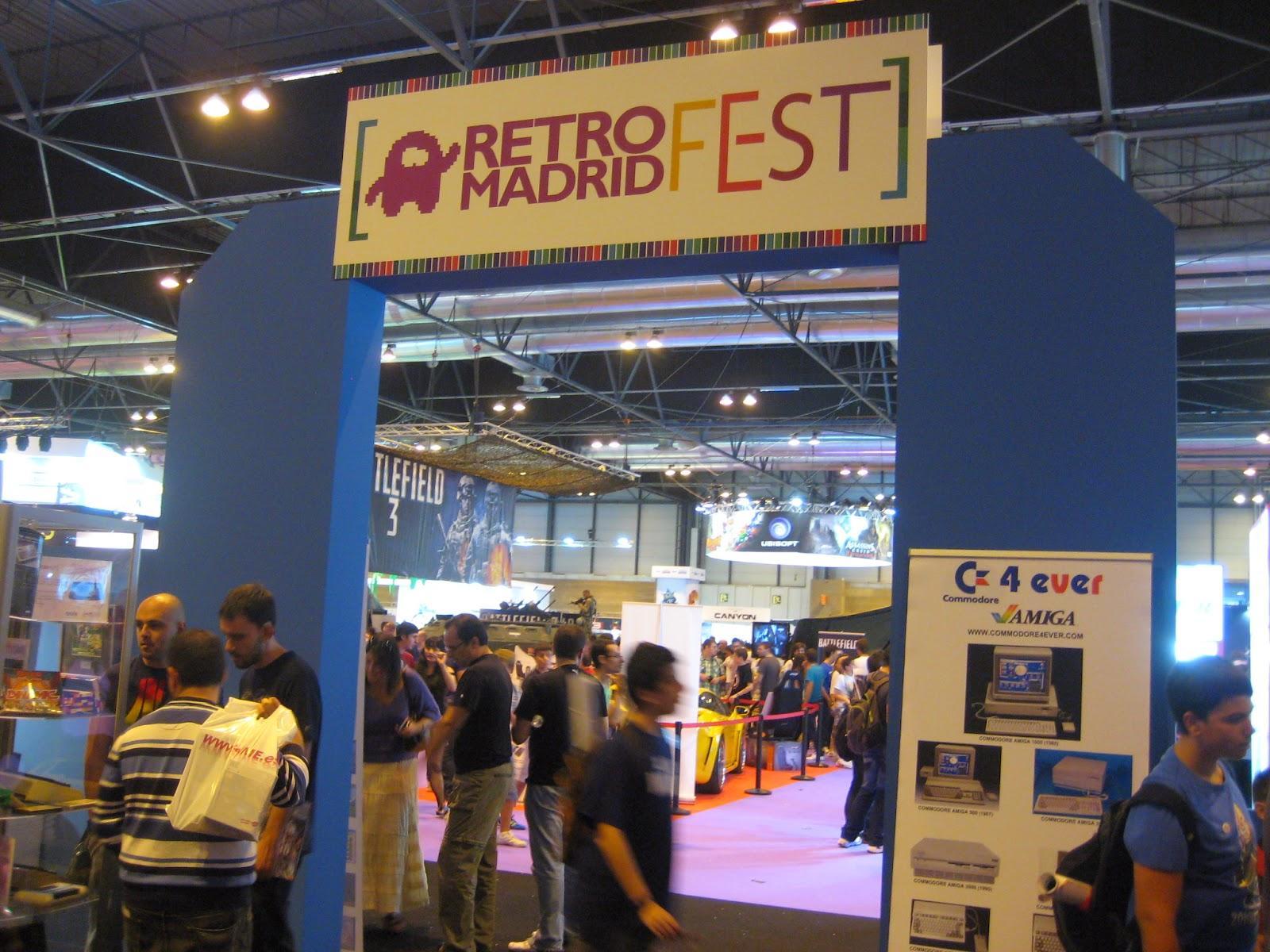 RetroMadrid / Game Fest 2011