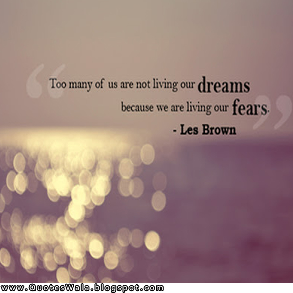 quotes about dreams and reality les brown dreams quote Quotes