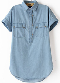 http://www.shein.com/Blue-Lapel-Short-Sleeve-Pockets-Denim-Blouse-p-172919-cat-1733.html?utm_source=rorymakeup.blogspot.it&utm_medium=blogger&url_from=rorymakeup