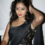 Actress Bhanu in Black Saree