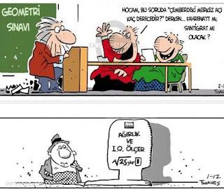Özel ders karikatürleri 12