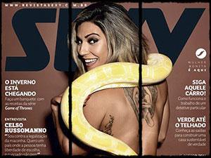 veronica araujo nua revista sexy julho 2015