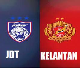 JDT Vs Kelantan Piala Malaysia 2014