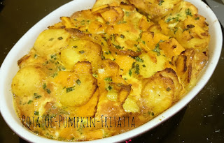 [Food] Kartoffel-Kürbis-Fritatta // Potatoes-Pumpkin-Fritatta