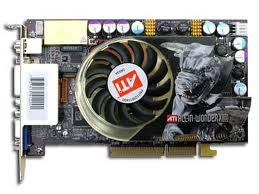 Laptop ATI graphics Card