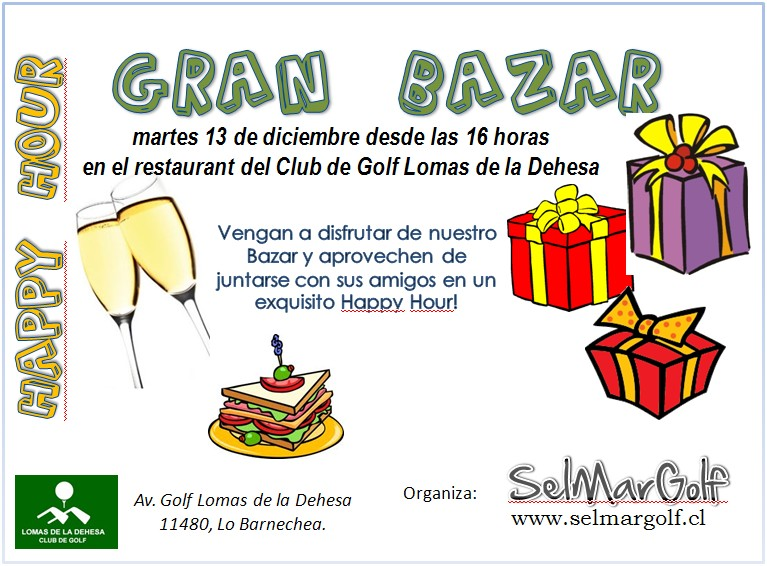 golf apparel in chile bazar y happy hour el 13 de