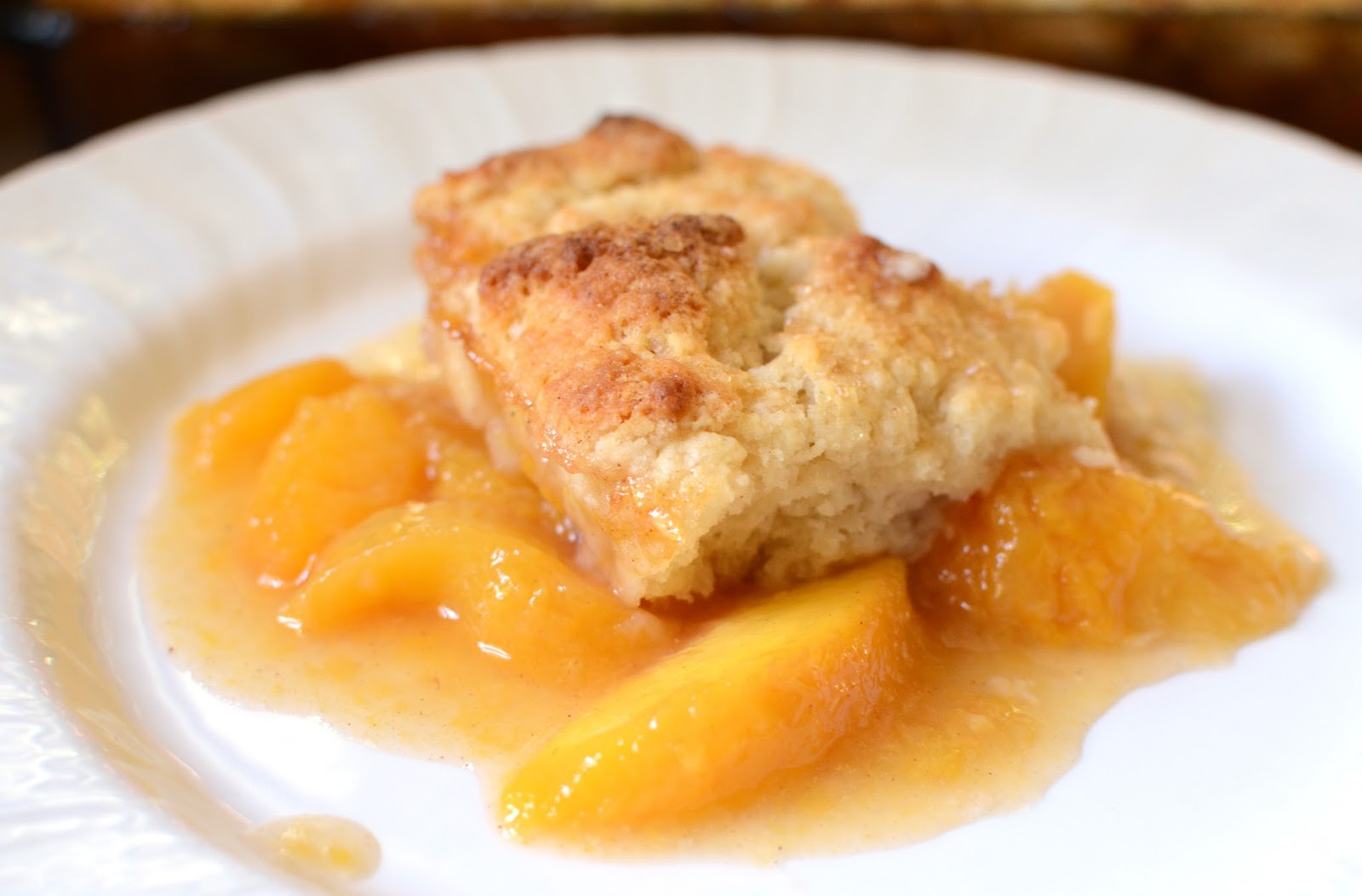 Easiest Gluten Free Peach Cobbler Recipe Ever ...