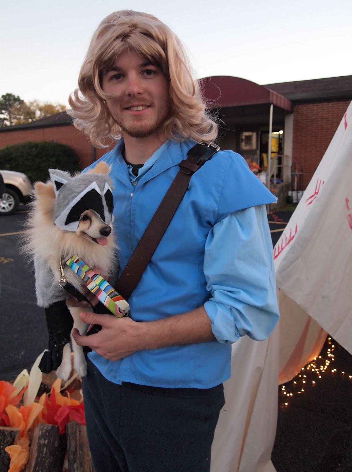 pocahontas and john smith halloween costume