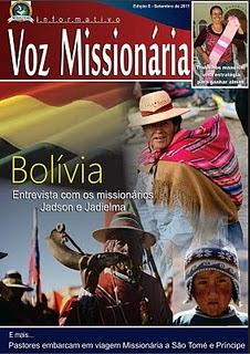 INFORMATIVO VOS MISSIONÁRIA
