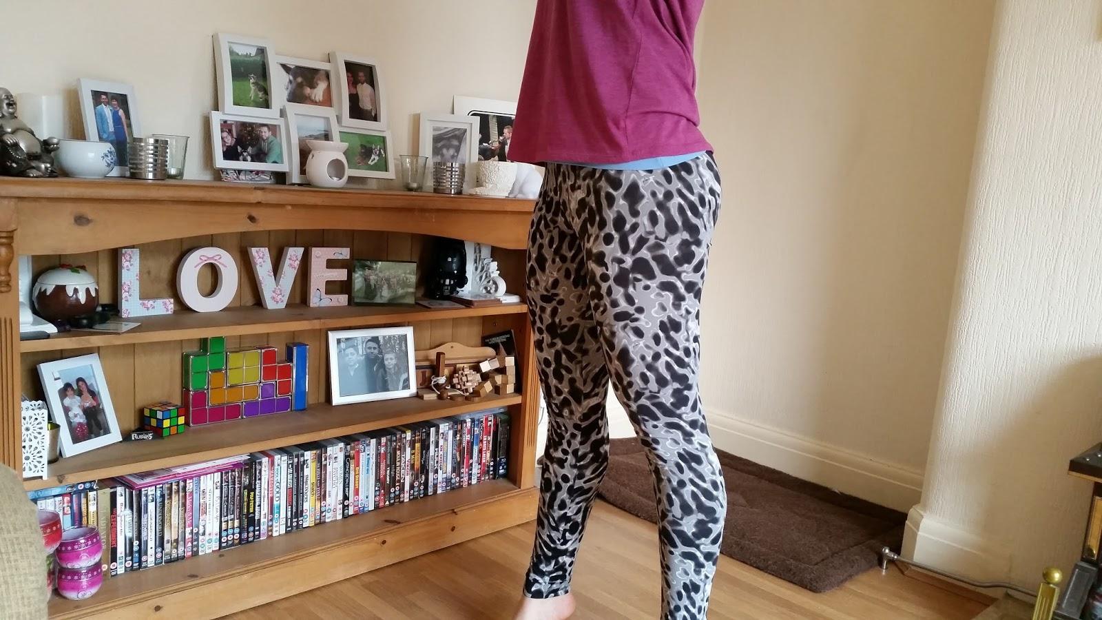 Tesco F&F Animal Print Leggings - My General Life