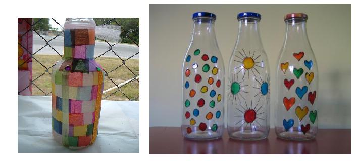 Botellas de vidrio - Que hacer con botellas de vidrio ...