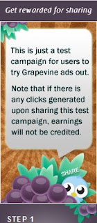 iklan grapevine testing purposed