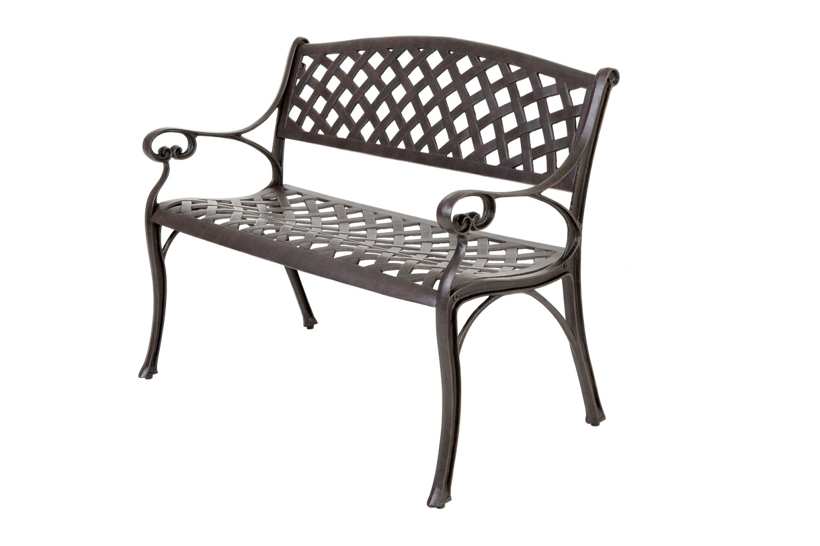 Outside edge garden furniture blog free cast aluminium Garden benches metal