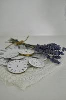 Lavendel och urtavlor