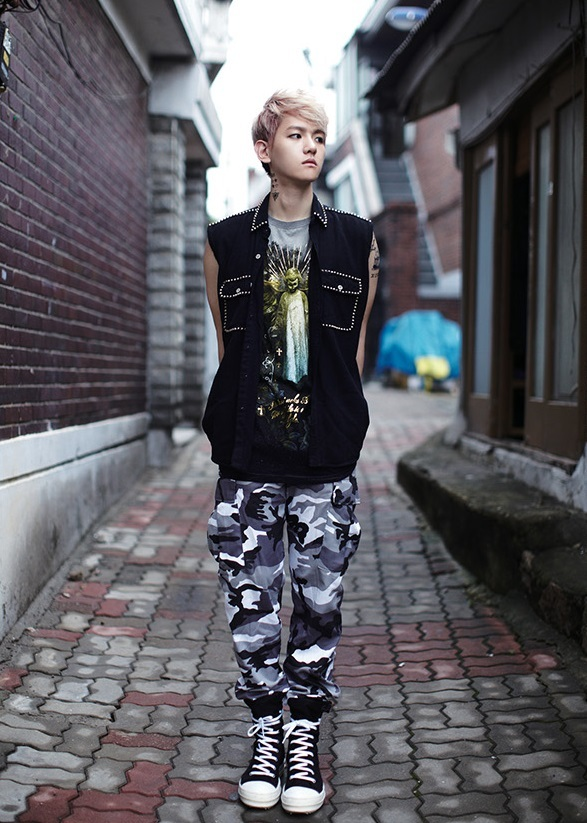 Xiumin Growl Photoshoot