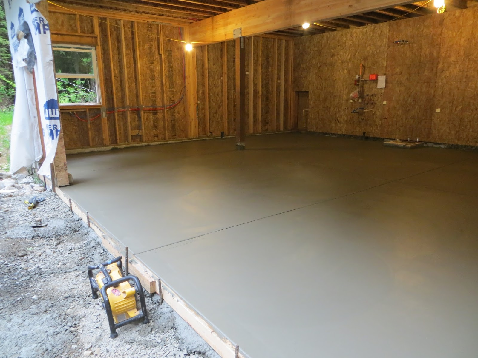 Besides Getting Started On Our Rough Ins, Another Big Milestone Has Been  Getting Our Garage Slab Poured J