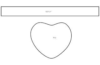 Valentine's Heart Candy Plush Template Bubs B4Astudios