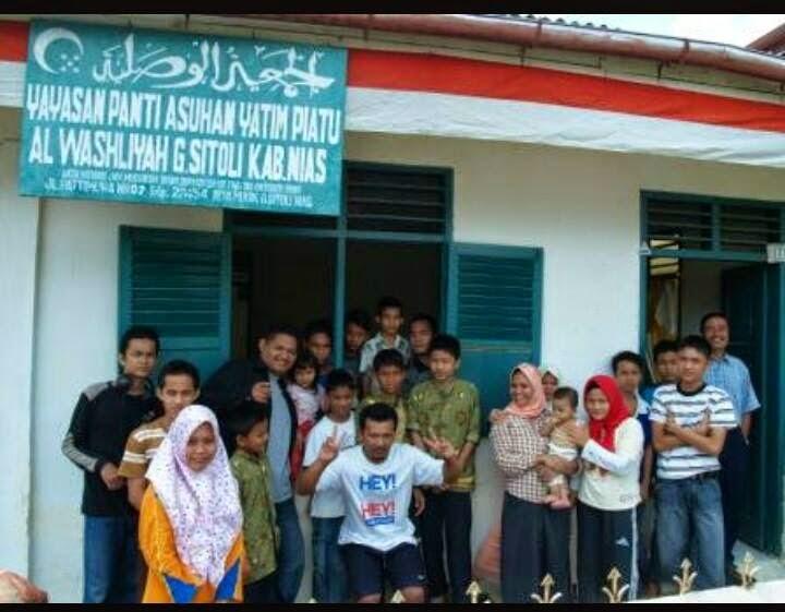 Rumah anak yatim, Pulau Nias, indonesia,
