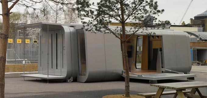 Modular Classroom Cost ~ Architectural technology bay improving 'low cost to