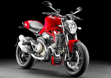 Ducati Monster 1200 Model 2014 (Foto 1). Majalah Otomotif Online