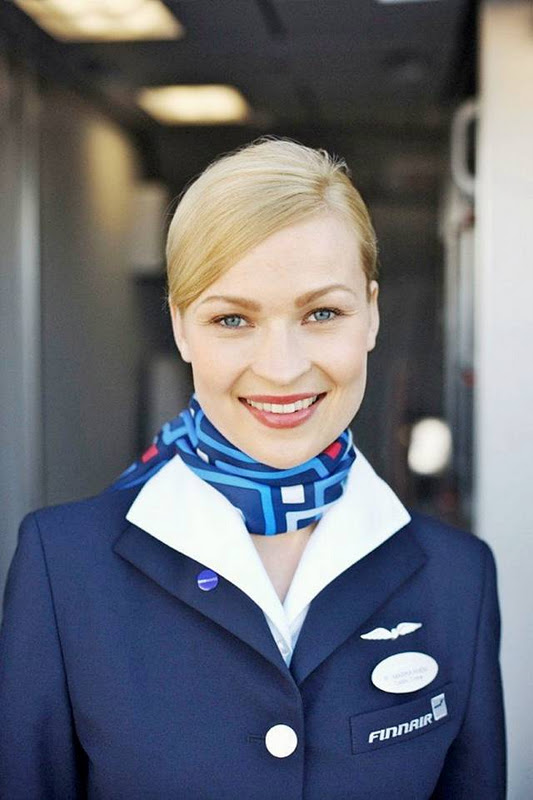 15Finland252CFinnairAirHostess - Air Hostess From Different Countries
