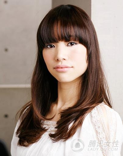 Hair styles: Long Straight Hairstyles For Asian Women 2013