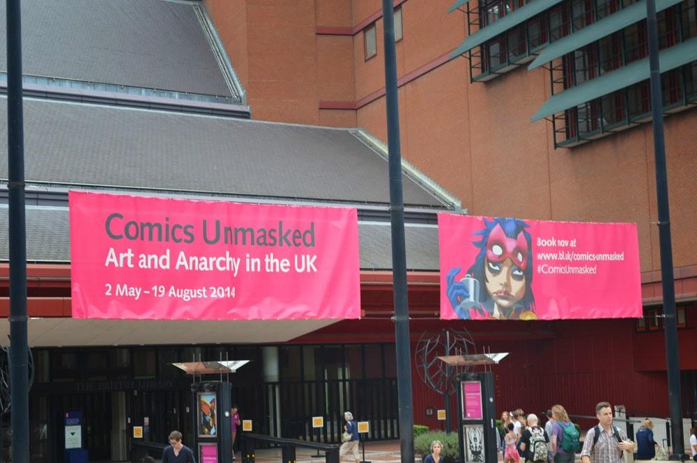 Comics Unmasked show