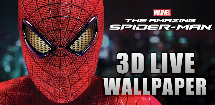 Amazing Spider Man Download for Android Devices -3D Live Wallpaper