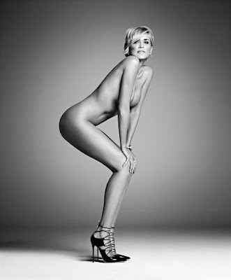 Sharon Stone naked photo after stroke