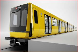 U-Bahn + BVG: So werden Berlins neue U-Bahnen aussehen