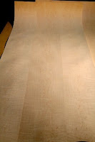 highly figured curly maple veneer