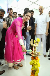 Actress Charmi Latest Pictures in Salwar Kameez at Big C Mobile Store Launch 0006