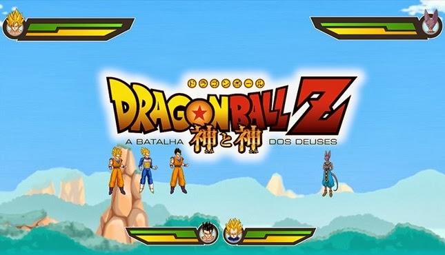 Jogo Dragon Ball Z A Batalha dos Deuses