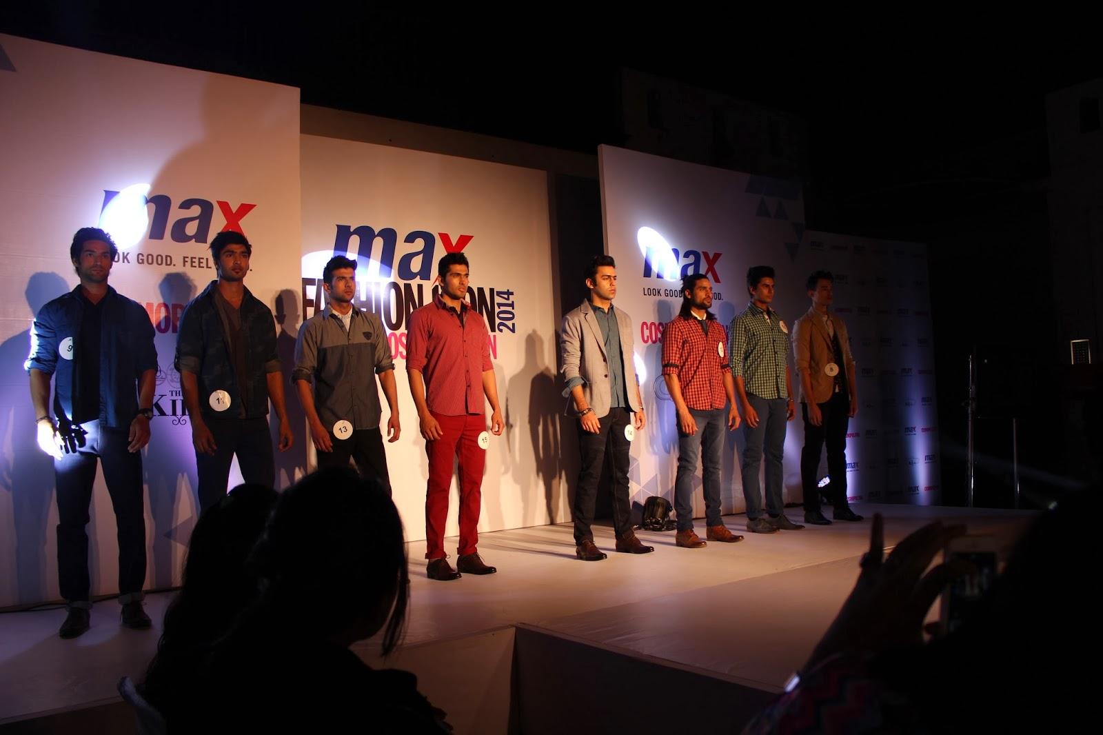 MAX Fashion Icon 2014 Delhi Audition In Association With MAX and Cosmopolitan Magazine