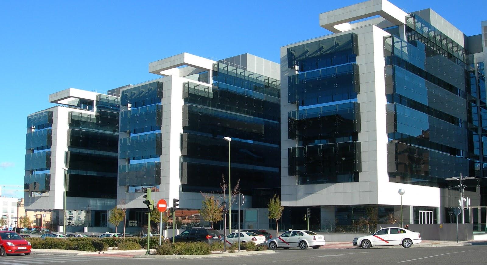 Las tablas digital la sede de dragados en las tablas for Edificios oficinas madrid