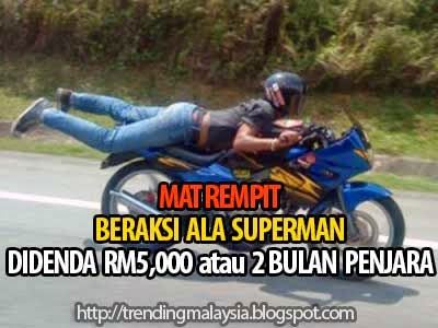 Mat Rempit Superman