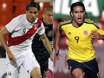 Peru vs Colombia