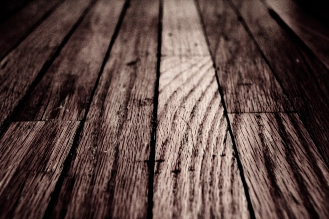 The modern housewives how to clean an old hardwood floor for Antique wood flooring
