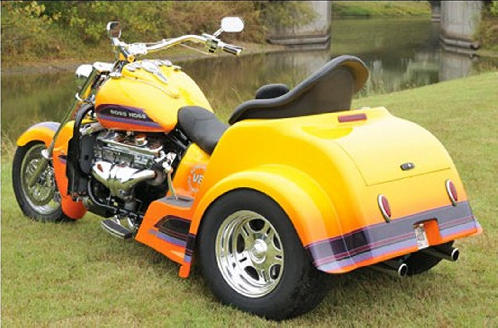 Boss Hog Motorcycle Trikes : Motorcycle pictures boss hoss bhc zz trike