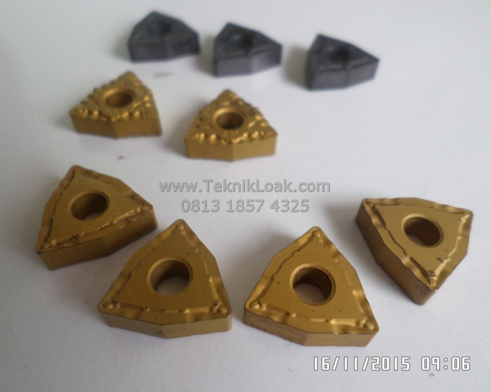 Insert Bubut Wnmg 080404/08/12 | Pisau Bubut | Chip Bubut | Insert Carbide Baru
