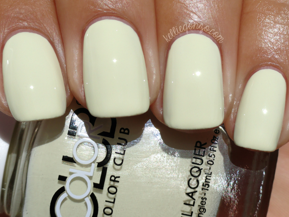KellieGonzo: Color Club Look Don\'t Tusk Review & Swatch