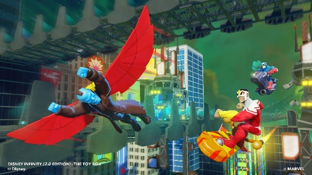Yondu and Falcon in Disney Infinity 2.0