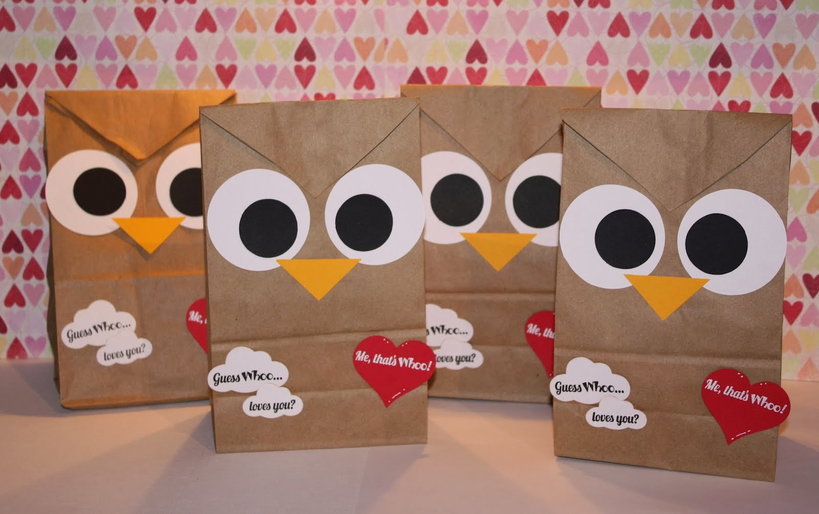 Valentine S Owl Bag Idea