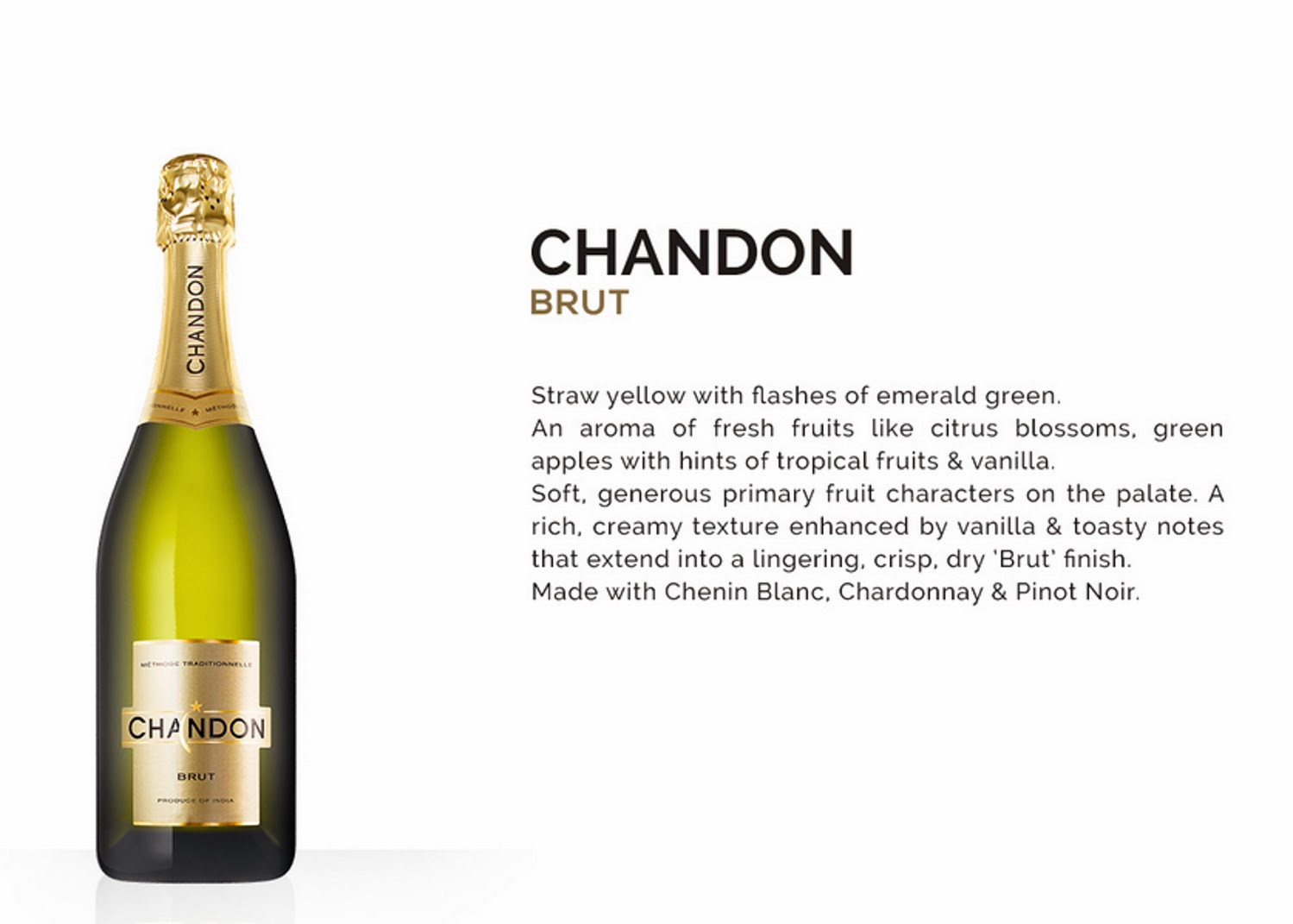 Chandon Brut Produce of India