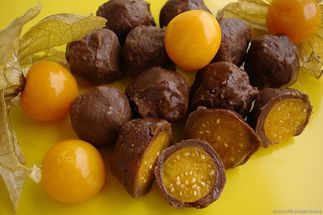 Miechunka w czekoladzie