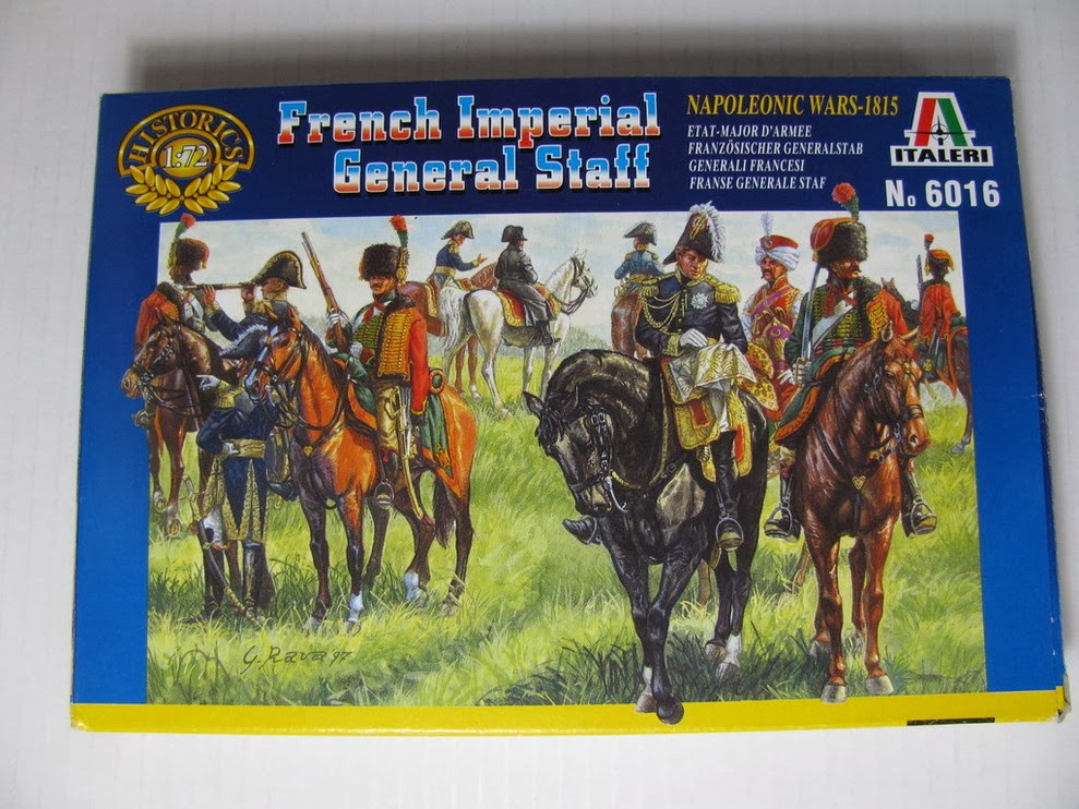 ITALERI 1//72 FIGURES FRENCH IMPERIAL GENERAL STAFF Napoleonic Wars